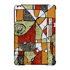 Multicolored Abstract Tribal Print Apple Ipad Mini Hardshell Case (compatible With Smart Cover)