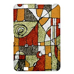 Multicolored Abstract Tribal Print Kindle Fire HD 8.9  Hardshell Case