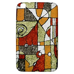 Multicolored Abstract Tribal Print Samsung Galaxy Tab 3 (8 ) T3100 Hardshell Case