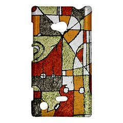 Multicolored Abstract Tribal Print Nokia Lumia 720 Hardshell Case