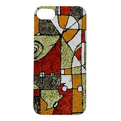 Multicolored Abstract Tribal Print Apple Iphone 5s Hardshell Case