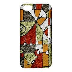 Multicolored Abstract Tribal Print Apple Iphone 5c Hardshell Case