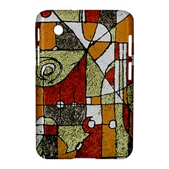 Multicolored Abstract Tribal Print Samsung Galaxy Tab 2 (7 ) P3100 Hardshell Case