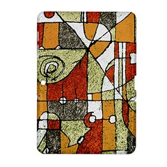 Multicolored Abstract Tribal Print Samsung Galaxy Tab 2 (10.1 ) P5100 Hardshell Case