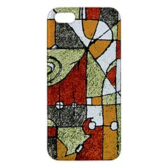 Multicolored Abstract Tribal Print Iphone 5s Premium Hardshell Case