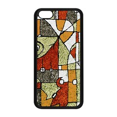 Multicolored Abstract Tribal Print Apple Iphone 5c Seamless Case (black)