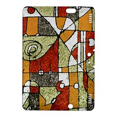 Multicolored Abstract Tribal Print Kindle Fire HDX 8.9  Hardshell Case