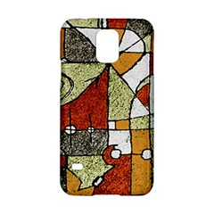Multicolored Abstract Tribal Print Samsung Galaxy S5 Hardshell Case