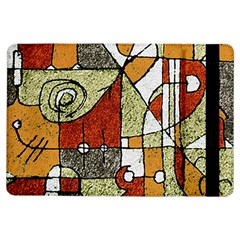 Multicolored Abstract Tribal Print Apple iPad Air Flip Case