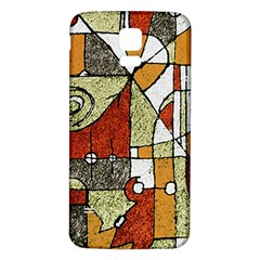 Multicolored Abstract Tribal Print Samsung Galaxy S5 Back Case (white)