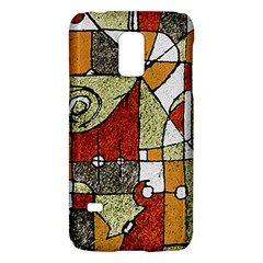 Multicolored Abstract Tribal Print Samsung Galaxy S5 Mini Hardshell Case