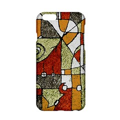 Multicolored Abstract Tribal Print Apple Iphone 6 Hardshell Case