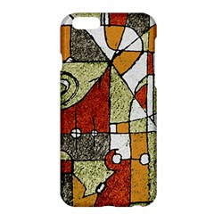 Multicolored Abstract Tribal Print Apple Iphone 6 Plus Hardshell Case