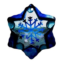 House By Saprillika Snowflake Ornament (two Sides)