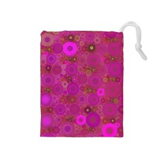 Pinka Dots  Drawstring Pouch (Medium)