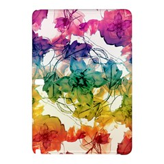 Multicolored Floral Swirls Decorative Design Samsung Galaxy Tab Pro 10.1 Hardshell Case