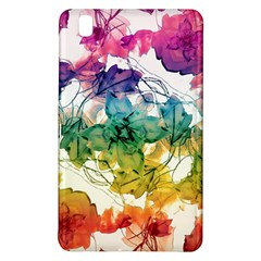 Multicolored Floral Swirls Decorative Design Samsung Galaxy Tab Pro 8.4 Hardshell Case