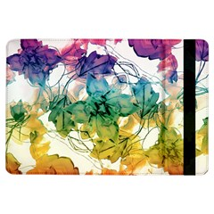 Multicolored Floral Swirls Decorative Design Apple Ipad Air Flip Case