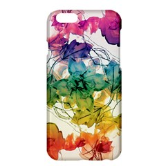 Multicolored Floral Swirls Decorative Design Apple iPhone 6 Plus Hardshell Case