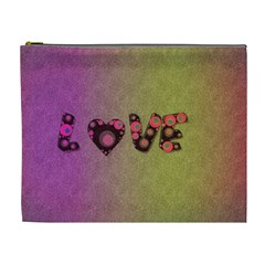 Love Abstract  Cosmetic Bag (xl)