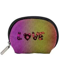 Love Abstract  Accessory Pouch (Small)