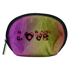 Love Abstract  Accessory Pouch (medium)