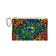 Bling Skiddles Canvas Cosmetic Bag (Small)