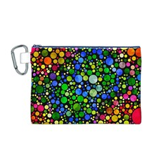 Bling Skiddles Canvas Cosmetic Bag (Medium)