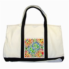 Neon Skiddles Two Toned Tote Bag
