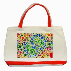 Neon Skiddles Classic Tote Bag (Red)