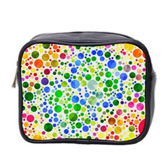 Neon Skiddles Mini Travel Toiletry Bag (two Sides)