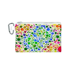 Neon Skiddles Canvas Cosmetic Bag (Small)