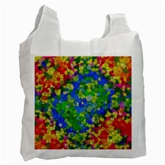 Skiddles White Reusable Bag (two Sides)