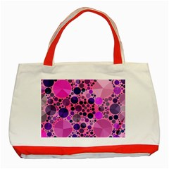 Pink Bling  Classic Tote Bag (Red)