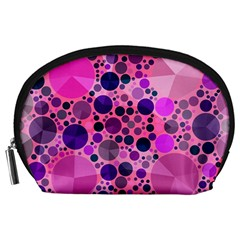 Pink Bling  Accessory Pouch (Large)