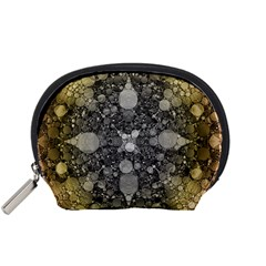 Abstract Earthtone  Accessory Pouch (Small)