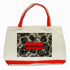 Like A Boss Sassy Lips  Classic Tote Bag (Red)