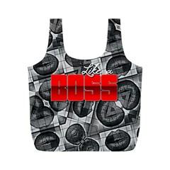 Like A Boss Sassy Lips  Reusable Bag (M)