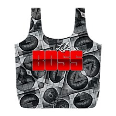 Like A Boss Sassy Lips  Reusable Bag (L)
