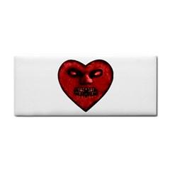 Evil Heart Shaped Dark Monster  Hand Towel