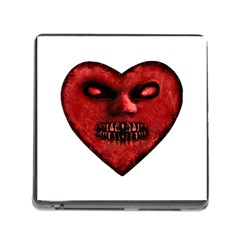 Evil Heart Shaped Dark Monster  Memory Card Reader With Storage (square)