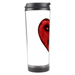Evil Heart Shaped Dark Monster  Travel Tumbler