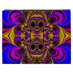 Crazy Abstract  Cosmetic Bag (xxxl)