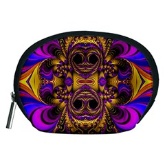 Crazy Abstract  Accessory Pouch (medium)