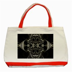 Blackened  Classic Tote Bag (Red)