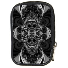 Blackened  Compact Camera Leather Case