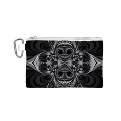 Blackened  Canvas Cosmetic Bag (small)