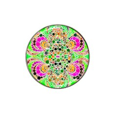 Florescent Abstract  Golf Ball Marker (for Hat Clip)