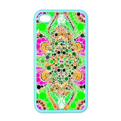 Florescent Abstract  Apple Iphone 4 Case (color)