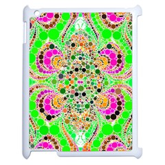 Florescent Abstract  Apple Ipad 2 Case (white)